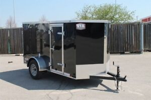 2019 CONTINENTAL CARGO VHW 5x10 Enclosed Trailer