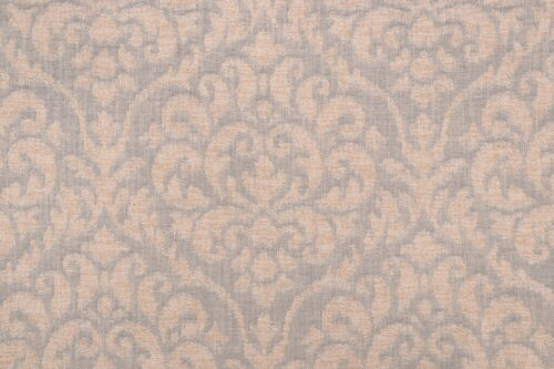 K4H ELEGANT COZY COMFY CHENILLE DAMASK UPHOLSTERY FABRIC  BLUE BTY