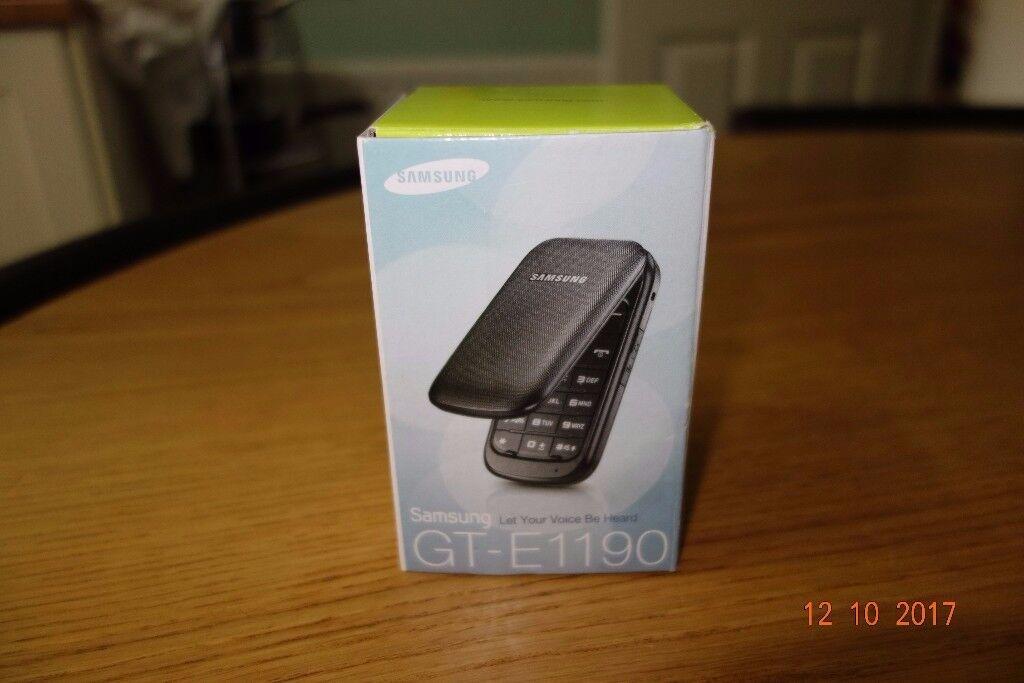 SAMSUNG GT-E1190 MOBILE PHONE