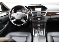LHD LEFT HAND DRIVE MERCEDES E220 2.2 CDI AUTOMATIC WHITE 2009 LEATHER WARRANTY PART EXCHANGE WELCOM
