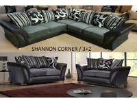 Corner Sofa Or 3 2 Sofas Leather And Fabric Many Beds Tv