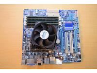 GA-H55M-UD2H with fan+i5 650 Dual core LGA1156+16GB Memory
