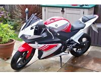 Yamaha YZF R125 Red & White 2008