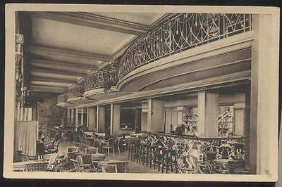 Postcard PARIS FRANCE  Le Barry Cocktail Lounge/Bar Interior view 1930's? ()