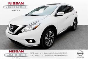 2015 Nissan Murano PLATINUM AWD 16400KM WOW!, AUCUN ACCIDENT, GP