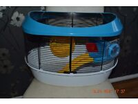 Hamster cage - complete - good condition!