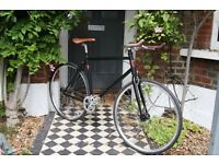 GOKU CYCLES Special Offer! Steel Frame Single speed road TRACK bike fixed gear racing bike e2za