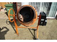 Electric Cement Mixer - Ideal for DIY.