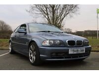 2001 BMW E46 330 Ci SE Auto Blue Coupe Grey Leather 113k FSH £1350 offers considered