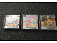 Video Games for Sony Playstation PS1 (complete)