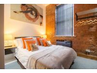 MANCHESTER CITY CENTRE Fully Furnished 1 Bed (+SofaBed) Apartment ,NO FEES, NO DEPOSIT and FREE WiFi