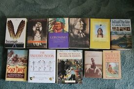 21 Native American Indian Books in Excellent Condition