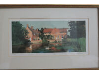 Prints by M.C. Alexander, numbered and signed
