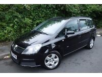 2007 VAUXHALL ZAFIRA 1.9 CDTI CLUB, 2 OWNERS, PART SERVICE HISTORY, HPI CLEAR