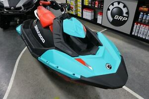2017 Sea-Doo/BRP Spark 2UP $26.22/week (120 months@7.99%) + tx