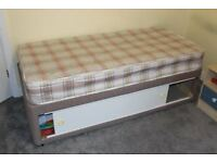 Childrens bed with mattress (small size)
