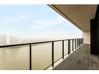 BRAND NEW RIVER FACING 3 BED - Horizons Tower E14 CANARY WHARF DOCKLANDS LIMEHOUSE BLACKWALL WAY