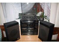 CD, cassette, radio in good condition