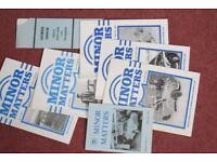 Morris Minor Owners Club Minor Matters Magazines