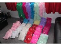 Feather Boa. Mixed Colours. Job lot. Ideal Carboot, Ebay Re-Sellers. Stock Clearence. 76 in Total