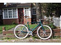 Special Offer GOKU CYCLES Steel Frame Single speed road bike TRACK bike fixed gear fixie bike 17