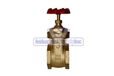 Gate Valve 3 Full Port Brass Industrial Supply