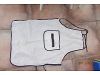 Kids/Teens School Apron with pocket & tie detail. Great for cooking or woodwork classes. Can be post
