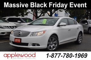2010 Buick LaCrosse CXL, ONE OWNER, BUICK LUXURY AT IT'S BEST