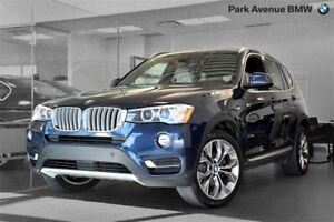 2015 BMW X3 xDrive28i NAVIGATION INTERIEUR OYSTER