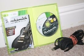 Rocksmith 2014 game for xbox 360