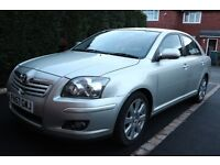 Superb Toyota Avensis TR D-4D With All The Extras Like Sat Nav Plus Parrot Bluetooth Fitted.
