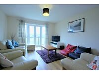 Well located two double bedroom top floor apartment with off-street parking
