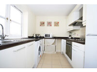 Newly painted 2 bedroom apartment in Surrey Quays with River views