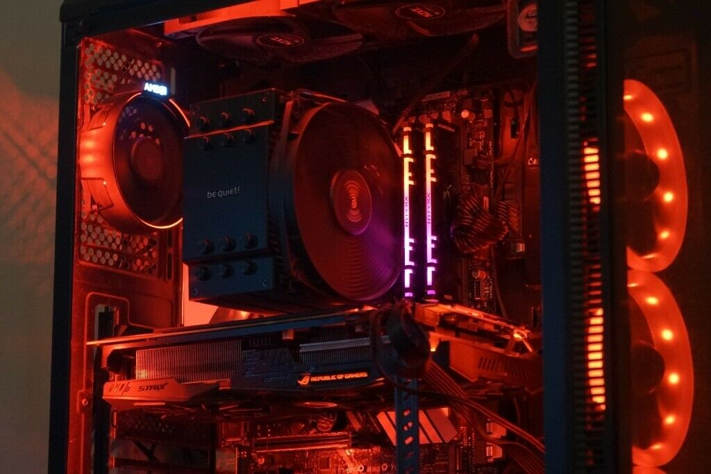 AMD Ryzen7 2700 - VEGA 56 - 1440p (2k) Gaming PC FULL SETUP £900ovno   in  Blidworth, Nottinghamshire   Gumtree