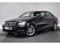 MERCEDES-BENZ C-CLASS 2.1 C220 CDI BLUEEFFICIENCY AMG SPORT 4d 168 BHP (blue) 2013