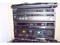 OLD RETRO TECHNICS HIFI HI FI STERIO SYSTEM
