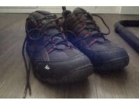 Decathlon Quechua waterproof walking shoes 9 1/2