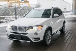 2015 BMW X3 2.0l Turbo Diesel! Low KM Wont Last!