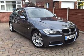 BMW 3 SERIES 2.0 318i M Sport 4dr. Well maintained drives amazing. 8 months mot. Fresh service