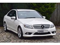 Mercedes-Benz C Class 2.1 C200 CDI BlueEFFICIENCY Sport 4dr, Only 53942 Miles, Full Service History