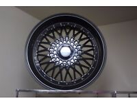"18"" bbs rs design alloy wheels"