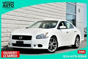 2011 Nissan Maxima 3.5 SV*SPORT PACK*19POUCES*BLANC*PADDLESHIFT*