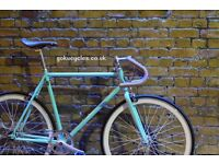 Special Offer GOKU CYCLES Steel Frame Single speed road bike TRACK bike fixed gear fixie bike 13