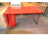 Red Office Desk GT 745