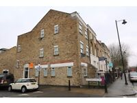 One bedroom first floor flat in Mile End near Victoria Park, communal roof terrace, NO DSS!
