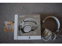 WESC Banjar On Ear Headphones- White