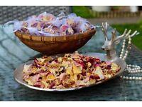 Homegrown Rose Petal Confetti