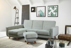 RAMISS Brand New Corner Sofa Bed >> Container for bedding >> Sleeping function >> Scandinavian Style