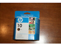 Hp 10 Black Ink Cartridge 69Ml C4844A Deskjet Business Inkjet Businessjet