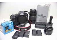 Canon EOS 5D Mark III 22.3MP Camera with Kits-Shutter count-3265 (Optional 2yrs Warranty)